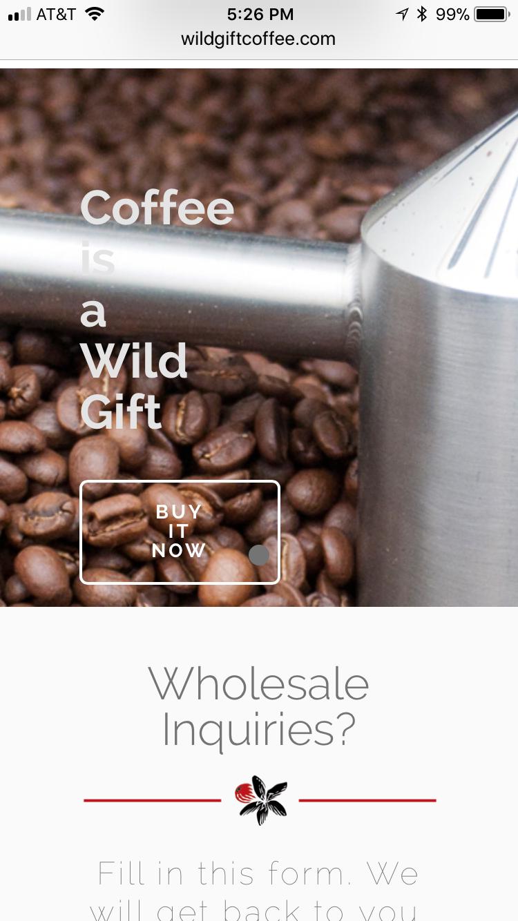 Wild Gift Coffee
