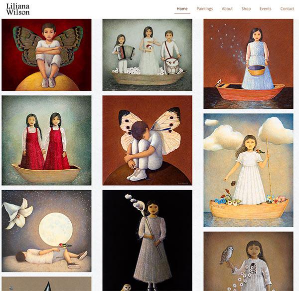 Liliana Wilson Homepage
