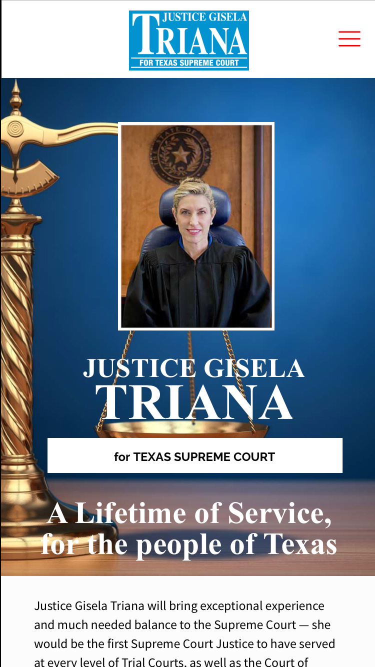 Justice Triana